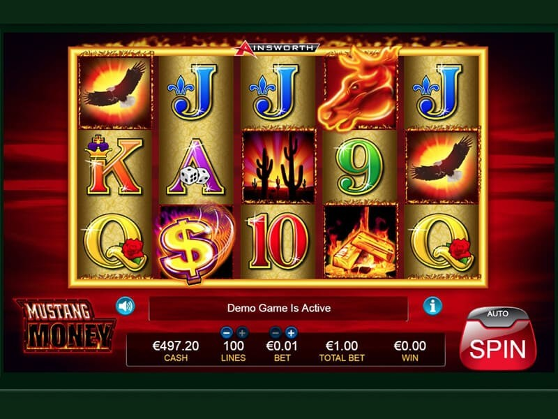 Find out all the secrets of Mustang Slots Machine